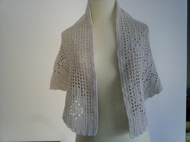 Filet Crochet Shawl Crochet For Beginners