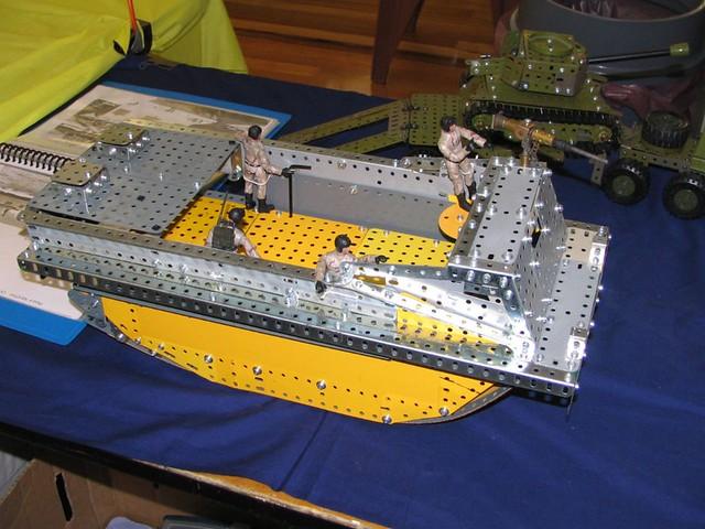 Meccano Alligator Amphibious Tractor