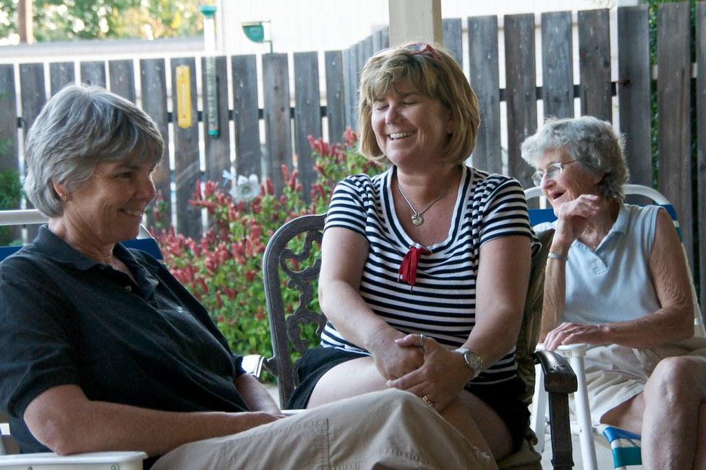 Catherine, Doris, and Betty