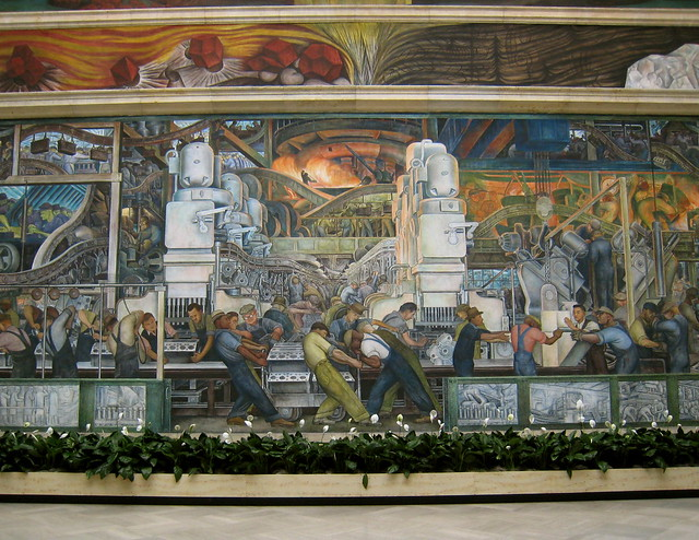 Diego rivera mural dia flickr photo sharing for Diego rivera lenin mural