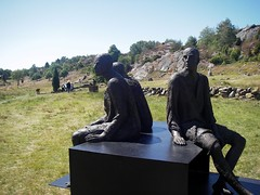 Skulptur i Pilane 2008