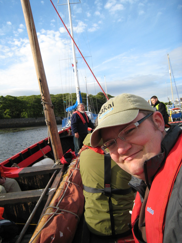 Sailing in Stornoway Harbor