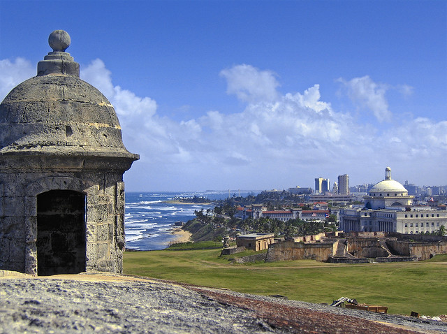 San Juan. Fort San Cristobal. Puerto Rico