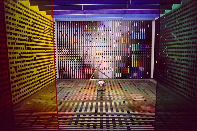Yaacov Agam - Amenagemenet de l'antichambre des appartmeents prives du Palais de l'Elysee pour le President Georges Pompidou