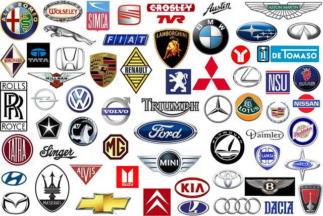 Car badges compilation