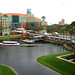 View From Our Balcony - Walt Disney World Dolphin Hotel