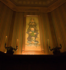 Haunted Mansion Stretching Room Paintings