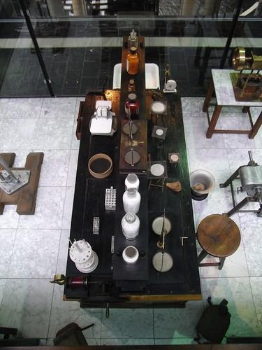 La Mesa de los Químicos en el Museo de la Minería