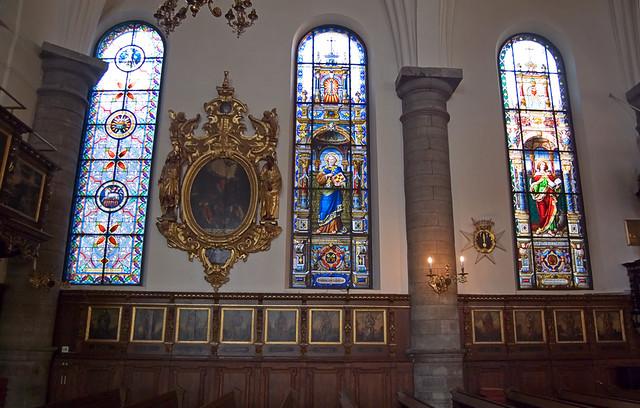 Tyska kyrkan, interiör