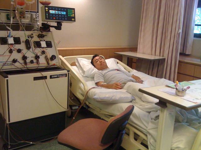stem cell harvesting machine