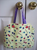 Mangosteen patterned Belle Epoque Tote