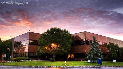 building clouds sunrise work newjersey sony nj a200 hdr maven platinumphoto jeffwickliffe