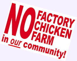 No Factory Farm in our community!