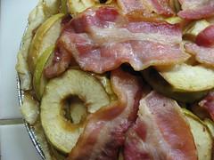 meal, corned beef, bacon, pork, vegetable, meat, food, dish, cuisine,