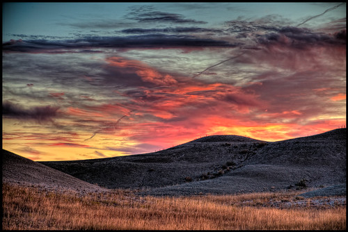 southdakota sunrise hdr bearcreek d300 buffalogap nationalgrasslands