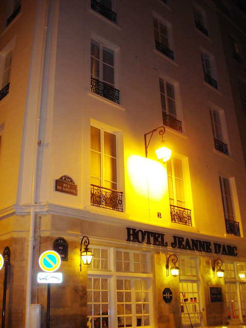 Hotel jeanne d 39 arc le marais paris flickr photo sharing for Hotel marais paris