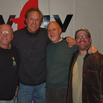 Tom Chapin with John Platt at WFUV