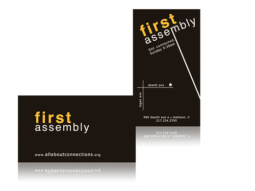 First Assembly Invite Card 2008