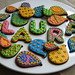 Indian Pattern Cookies