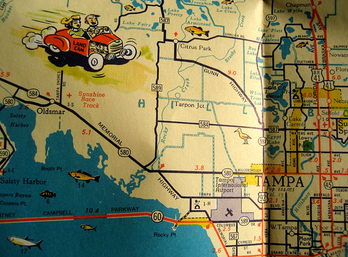 Help Plan A USA Vintage Road Trip For Our International Visitors - Antique road maps