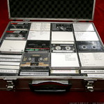 a box full of tapes of original music & performances from high school and college - _MG_0155