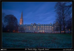 St. Mary's House at Nightfall