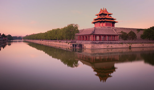 china longexposure sunrise asian dawn nikon asia chinese beijing historic east timeexposure historical forbiddencity eastern peking sunup daybreak d700