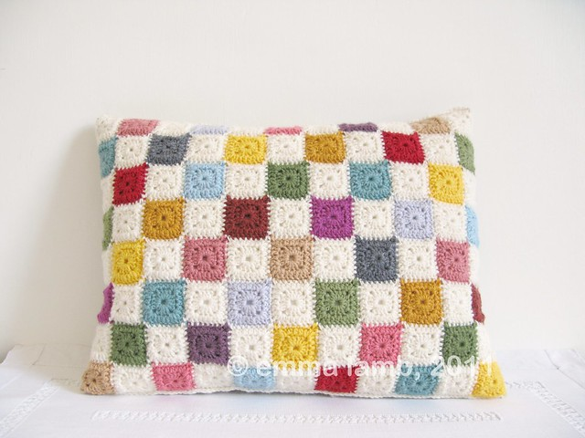 Luella cushion cover by Emma Lamb