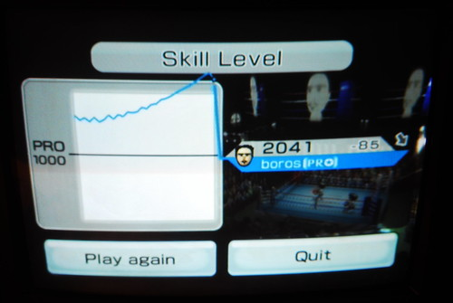 Too many skill points in Wii Sports Boxing