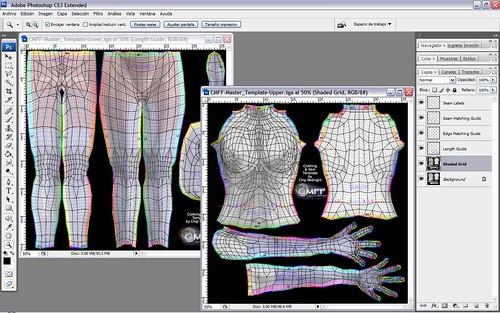 chip midnight templates - imagen perdida tutorial crear ropa para sl