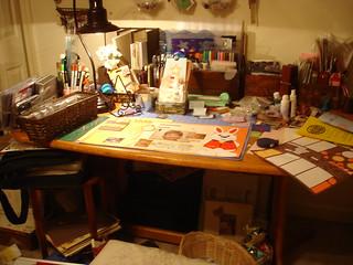 My New Scrap Table--Yeah!