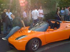 automobile(1.0), tesla(1.0), tesla roadster(1.0), vehicle(1.0), automotive design(1.0), land vehicle(1.0), luxury vehicle(1.0), supercar(1.0), sports car(1.0),