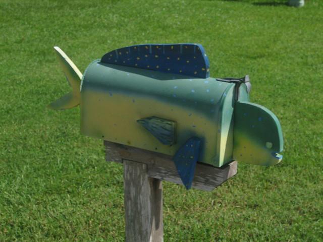 Dolphin (mahi-mahi) Mailbox