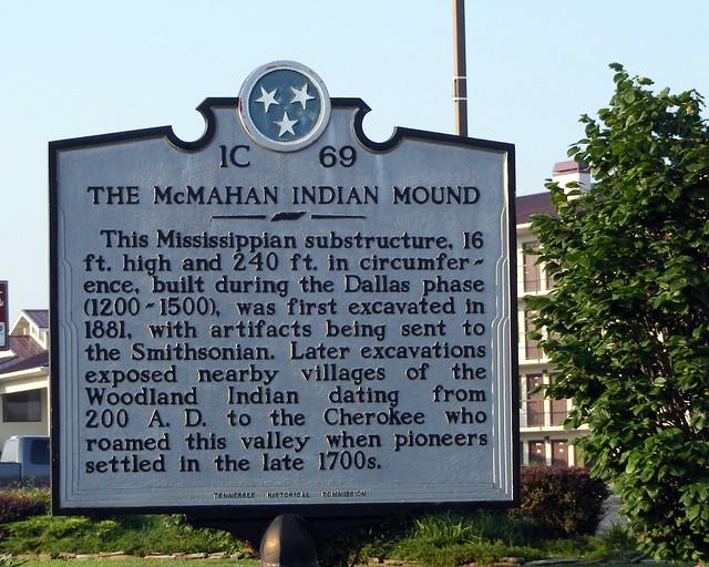 The McMahan Indian Mound  Explore Crazysanmanhistory39s