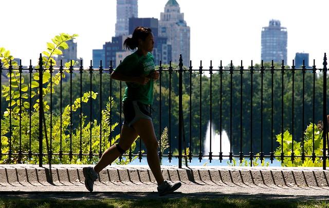 Jogging around the reservoir #1