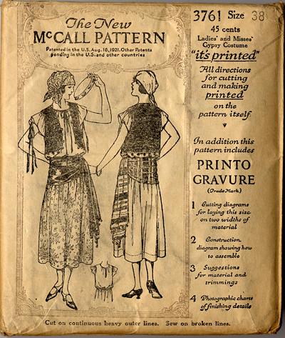 McCalls 5555 Flintstones Halloween Costume Pattern by Patidecaz
