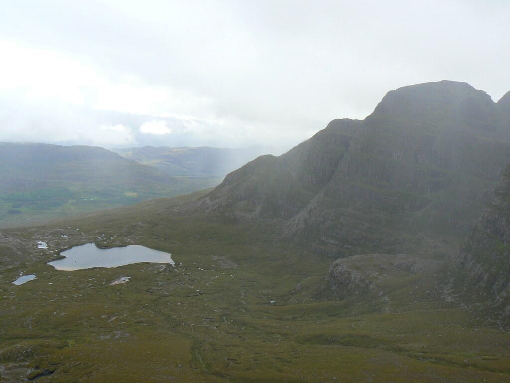A' Chioch and Lochan Coire na Poite