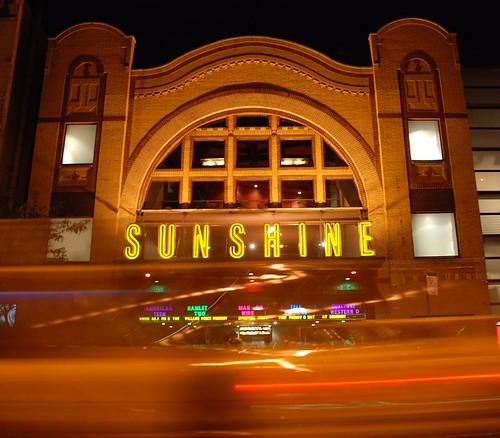 Sunshine Theater, Houston St NYC by Paolo Mastrangelo