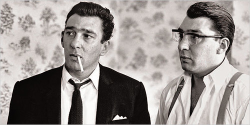 Reggie and Ronnie Kray 1965