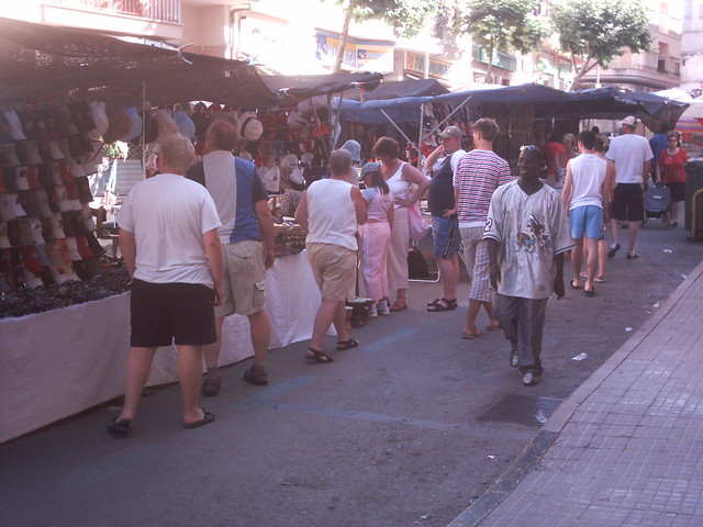 So many stalls...