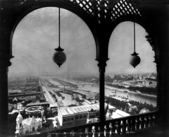 View of Exposition Universelle from Eiffel Tower, Paris, 1889