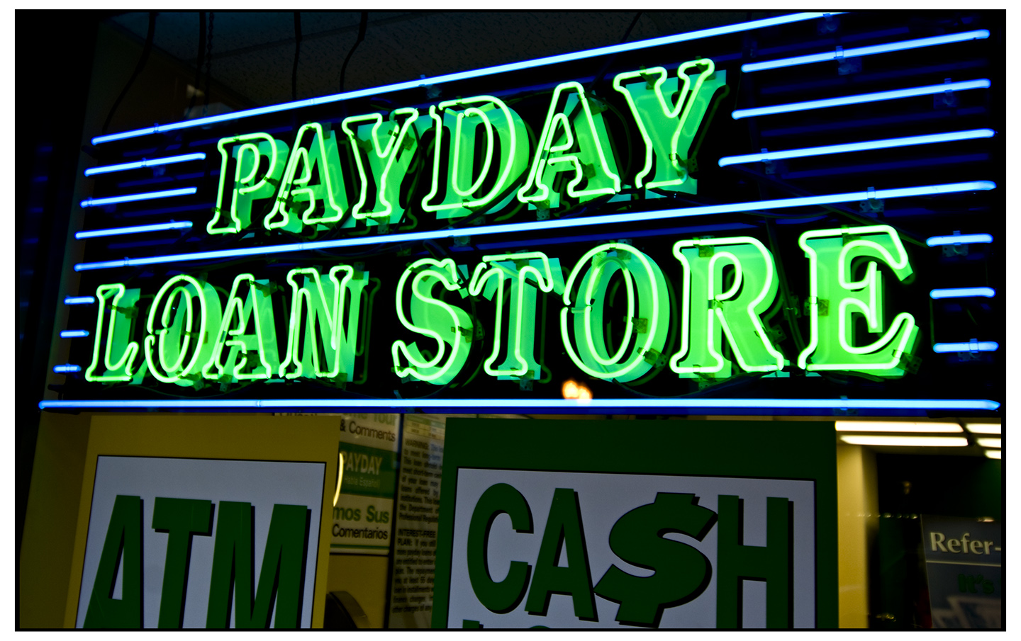 too many payday loans - 2