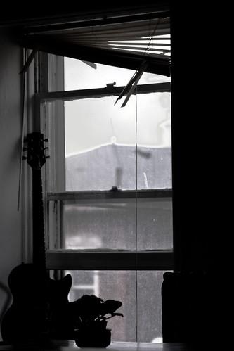 white black window silhouette les john paul parks iowa marion gibson 2008