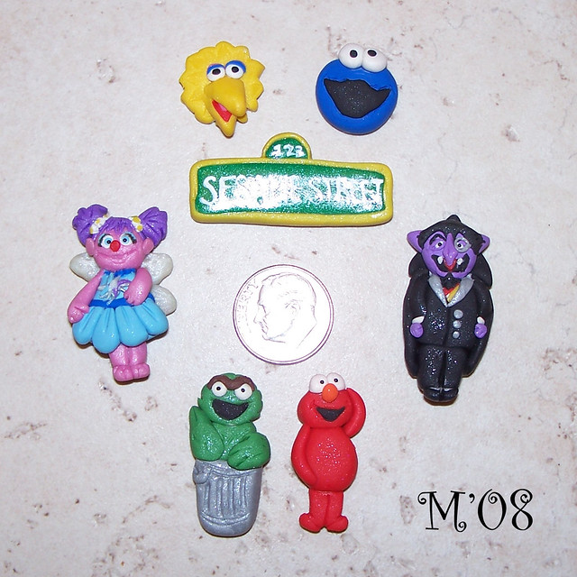 sesame street bead set | Flickr - Photo Sharing!