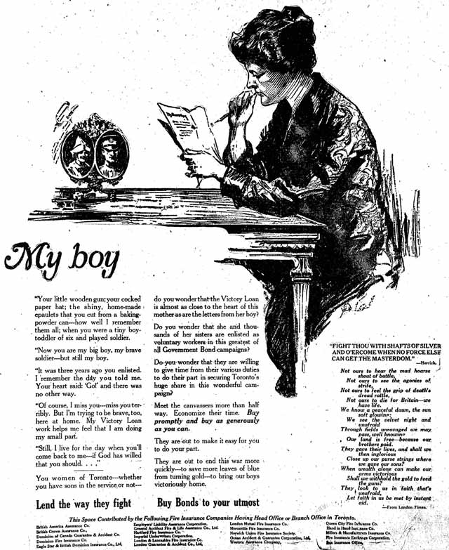 Vintage Ad #655: My Boy