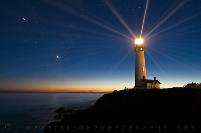 Pigeon Point Lighthouse Anniversary Lighting - San Mateo, California