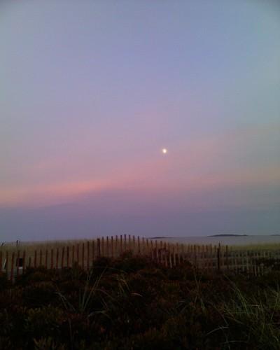 Ferry Beach Sunset