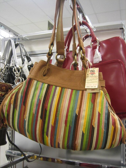 Lucky Brand thin striped leather purse, $119.99 | Flickr - Photo