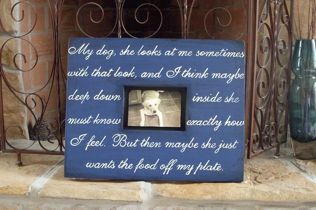 Frames With Quotes On Them: Hand Painted Custom Picture Frames With Quotes By Hope