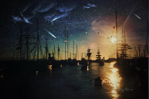 sun art birds digital river stars sailing bc ships creative richmond aurora brushes comet joygerowphoto impressedbeauty ©joygerow obsidiandawn theawardtree canadacanadacanada
